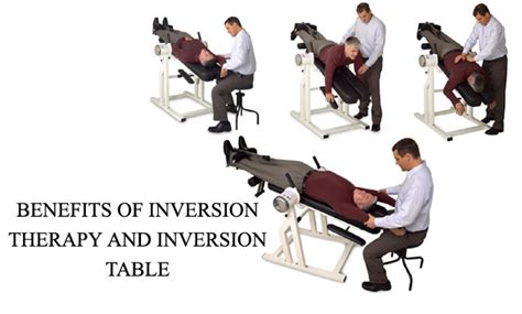 inversion therapy table benefits benefits of inversion therapy and inversion table
