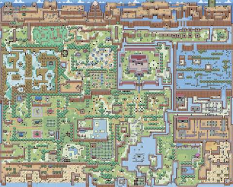 legend of zelda world map zelda maps and link on pinterest
