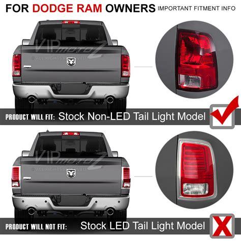 2012 dodge ram 2500 tail lights smoke 2010 2017 dodge ram 1500 2500 3500 full led rear