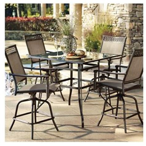 lovely high top patio sets 5 high top patio dining set