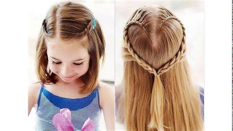 cute hairstyles for school for short hair youtube