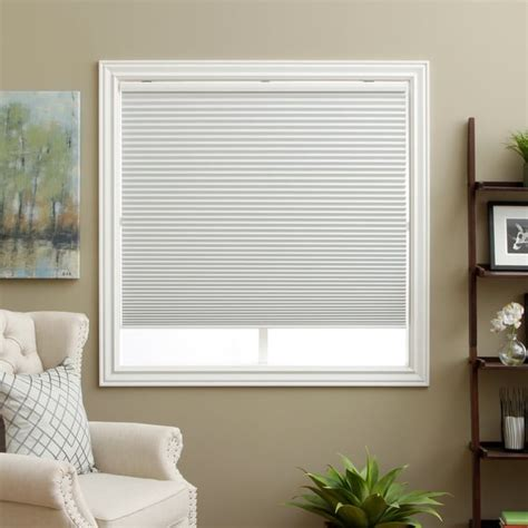 Bamboo Roman Shades Walmart - honeycomb white cell blackout cordless cellular shades 13608329 overstock com shopping