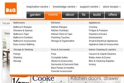 menu design exles in asp net 25 exles of mega menus in web design designm ag