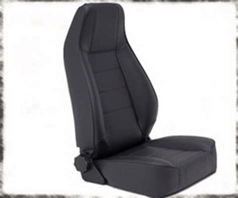 Jeep Cj7 Seats 44901 Smittybilt Black Vinyl Front Seat Jeep Cj5