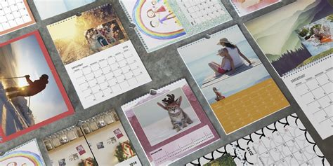 make your own personalised calendar 7 creative ideas for personalised calendars