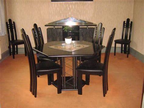leder gepolsterte esszimmer stühle esszimmer design schwarz