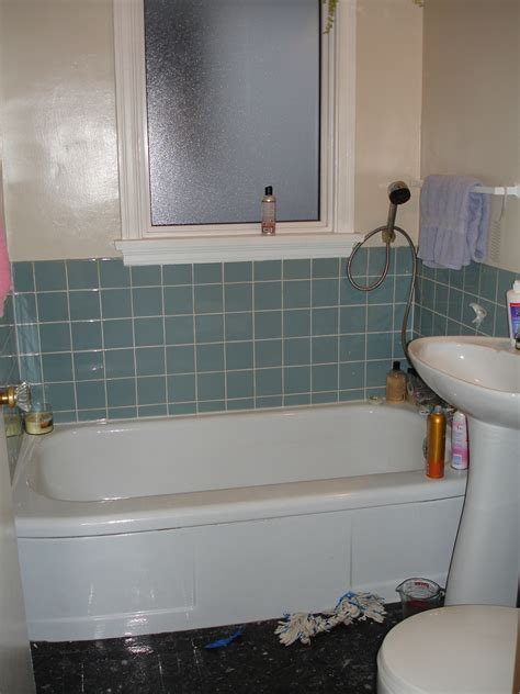 New Bathroom: Part One   Blue Speckled Pup