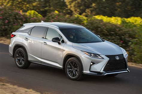lexus rx 2016 lexus rx first drive review motor trend