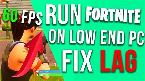 will fortnite run on a laptop new run fortnite on low end pc laptop how to fix lag
