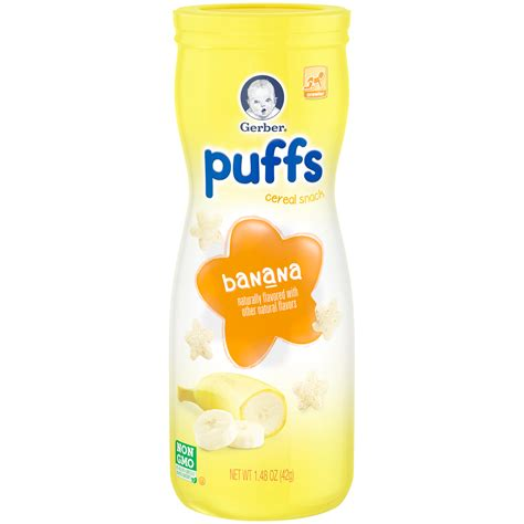 Gerber Graduates Puff By Susupedia gerber finger foods banana fruit puffs 1 48 oz 42 g