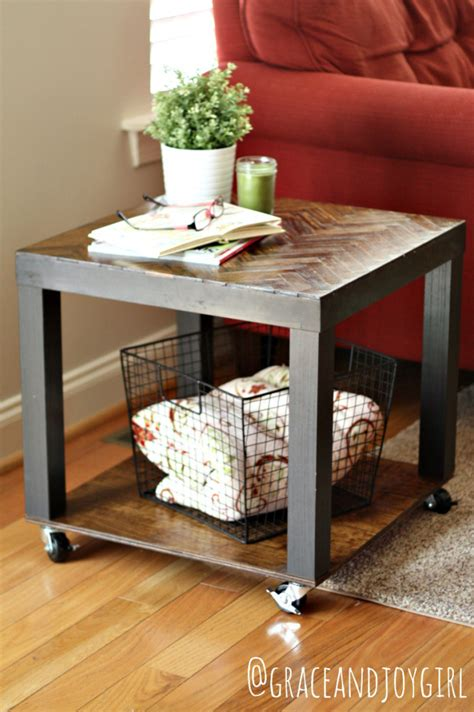 ikea side table hacks remodelaholic from bargain to beautiful 29 stylish ikea