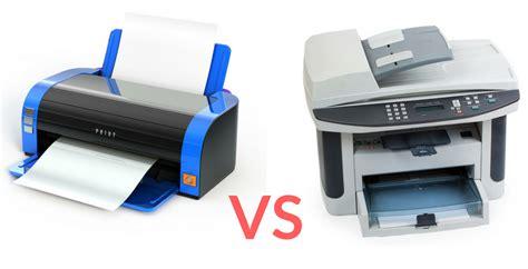 color laser vs inkjet laser printers vs inkjet printers