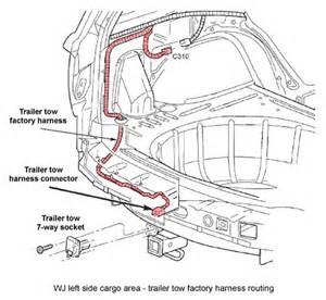 Jeep Grand Cherokee Trailer Wiring Harness Jeep Grand Cherokee Wj Trailer Towing