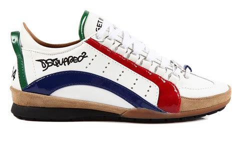 dsquared sneakers dsquared2 dsquared s shoes leather trainers sneakers
