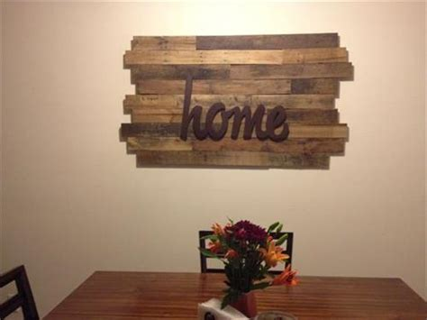 diy wood decor yourself diy wood pallet signs pallets designs
