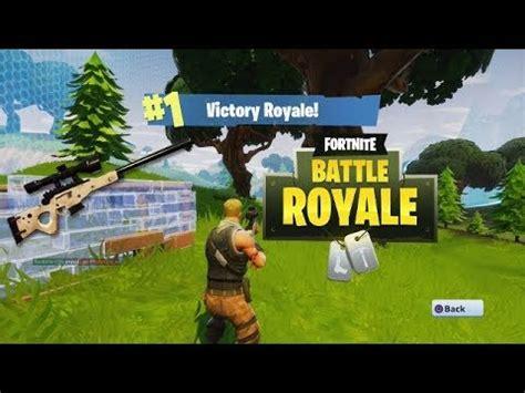 Fortnite Battle Royale Highlights #1   YouTube