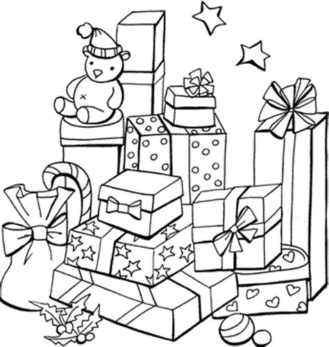 present coloring page presents coloring page az coloring pages