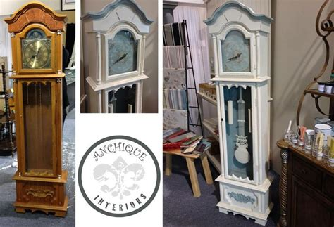chalk paint grandfather clock grandfather clock refinished in chalk paint decorative
