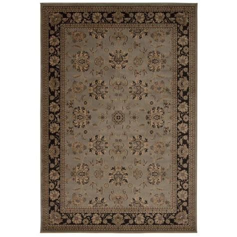 Area Rugs Overstock Nourison Overstock Ararat Green 3 Ft 9 In X 5 Ft 9 In Area Rug 254733 The Home Depot
