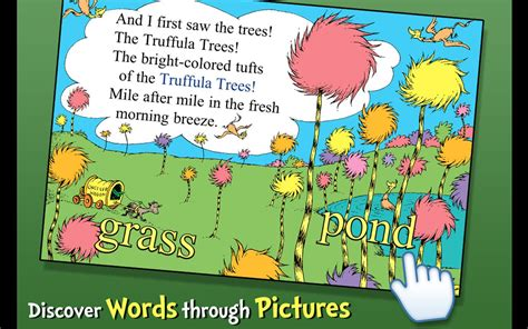 like trees books the lorax dr seuss android apps on play