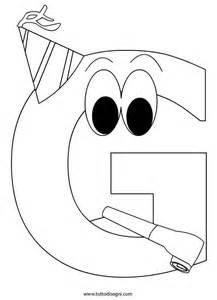disegnare lettere alfabeto alfabeto da colorare lettera g tutto disegni