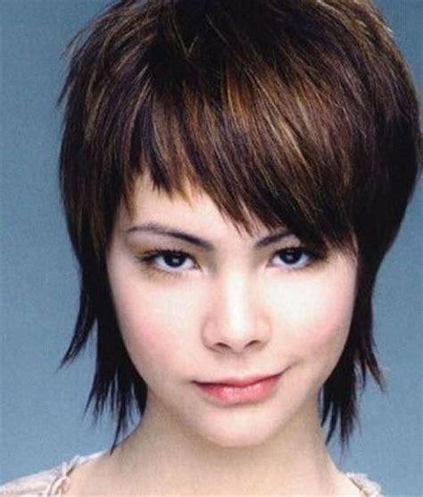 short hairstyles choppy bangs short choppy hair styles
