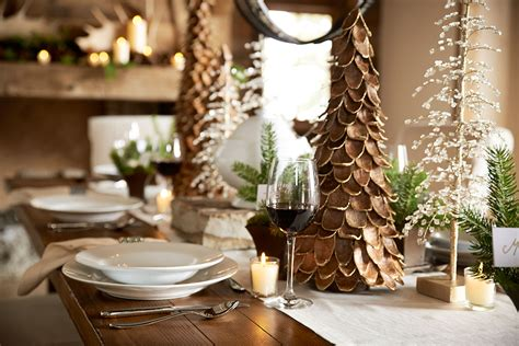 dining table for 8 rustic decorated christmas trees 8 ways to design the perfect holiday table setting