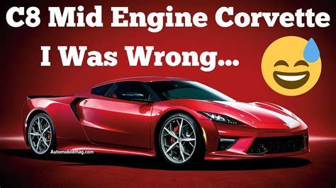mid engine corvette    manual