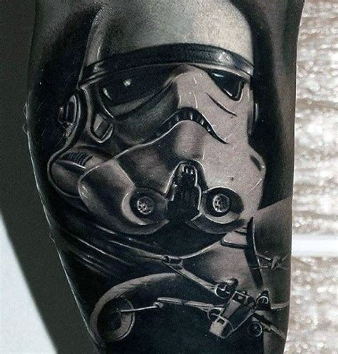 storm 3d tattoo designs 100 stormtrooper designs for wars ink ideas