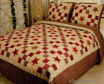 discount quilts and coverlets stars across america red bedding quilted w accessory