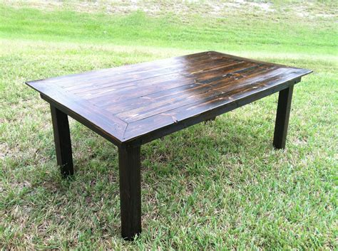 Handmade Dining Tables - handmade reclaimed wood dining table