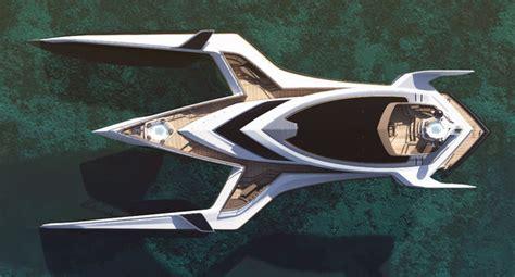 trimaran yacht design this futuristic trimaran yacht design looks incredible