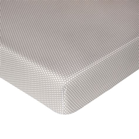 patterned bed sheets patterned cotton percale fitted sheet coincasa