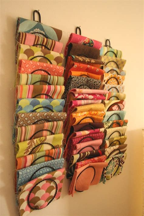 sewing pattern magazine holder 20 fabric storage ideas the scrap shoppe