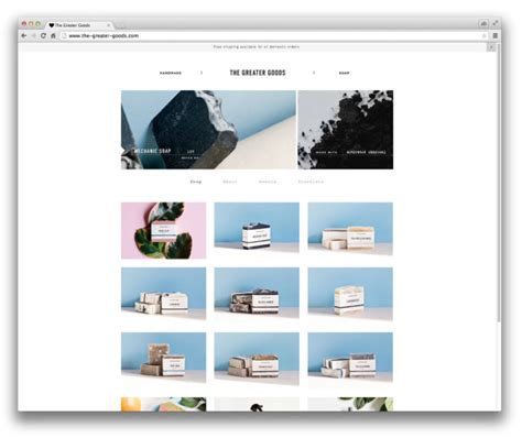 Squarespace Templates by 10 Well Designed Squarespace Commerce Design Milk