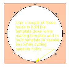 Router Circle Template by Router Circle Template How To Cut Circles And With