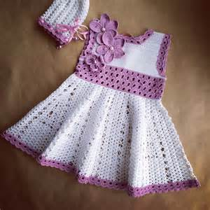 vestidos de ni 241 a tejidos a crochet modelos