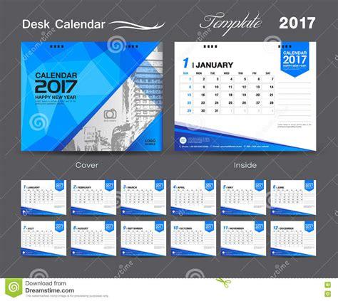 table calendar design vector set desk calendar 2017 template design cover desk