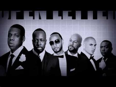 Letter Remix Open Letter Remix Z Wyclef Jean Swizz Beatz Common Pitbull Timbaland
