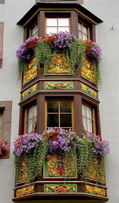 bay window flower boxes 55 balcony greenery ideas choose flowers for balcony and
