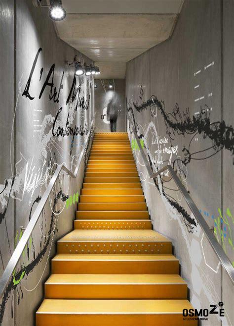 Décoration De Couloir D Entrée by Cage Escalier D 233 Sign