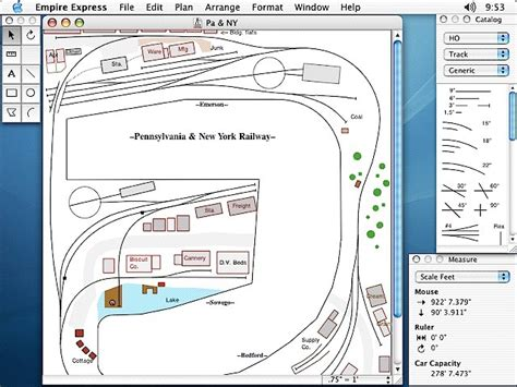 Railway Layout Design Software Mac   model train planning software mac jacques lillie