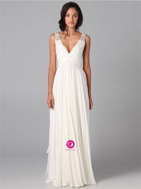 Uk dresses 30 75 off a line v neck beading sleeveless floor length