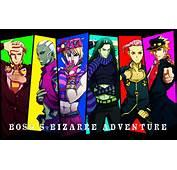 Anime Jojos Bizarre Adventure Wallpapers Desktop Phone