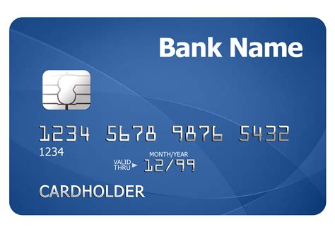 Credit Card Template Free Credit Card Template Psdgraphics