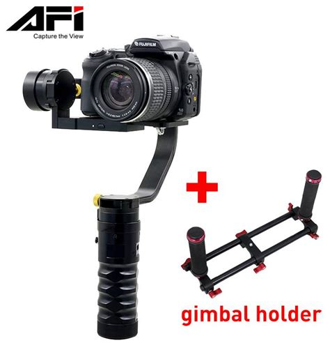 afi vs 3sd 3 axis handheld brushless stabilizer gimbal for canon nikon dslr support
