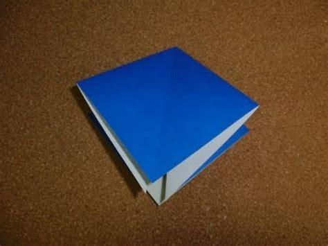 Origami Square Base - basic origami folds square base
