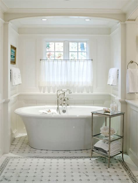 Bathroom Alcove Ideas Bathtub In Alcove Transitional Bathroom Benjamin Violet Pearl Architectural Digest