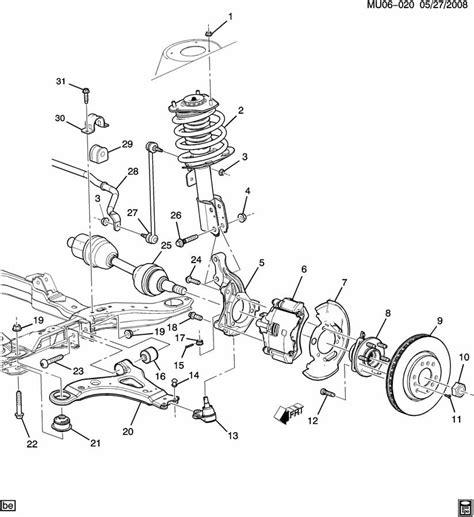 2006 Chevy Uplander Parts Diagram