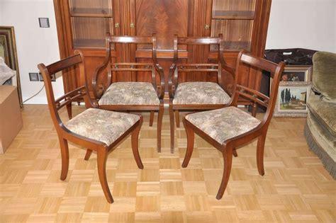 sessel englischer stil 4 lehnst 252 hle stuhl englischer stil aus mahagonie massiv